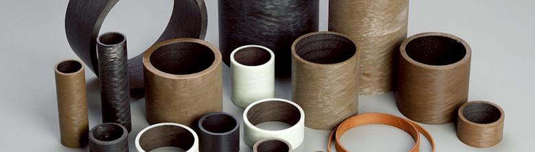 Paliers lisses thermoplastiques à enroulement filamentaire