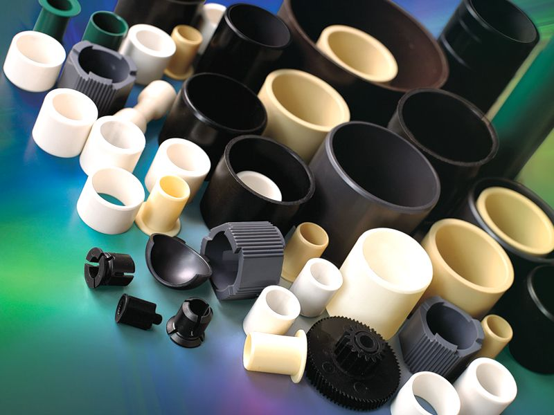 Polymer sliding bearings