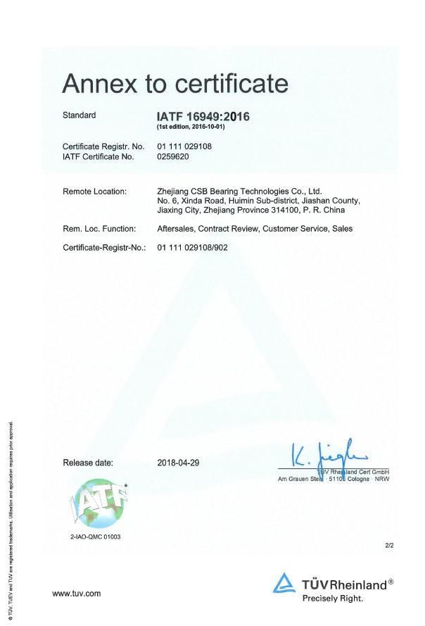 IATF 16949 - Management de la Qualité dans l'Industrie Automobile